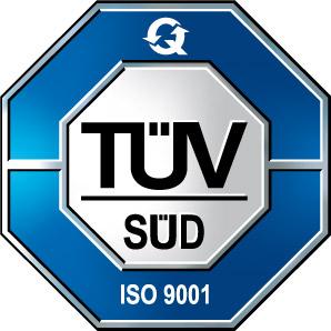 ISO 9001 zertifizierter Betrieb