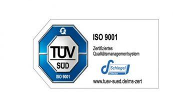 ISO 9001 Zertifikat für 2020 bestanden - Schlegel Etiketten