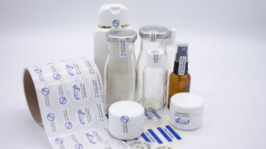 Siegeletiketten für Flaschen, Behälter und andere Verpackungen